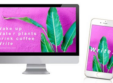 PHONE BACKGROUND - How To Write Every Day: Desktops & Phone Backgrounds For Writers - TOP
